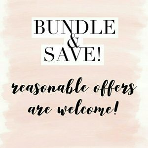 Other - BUNDLE ITEMS AND SAVE BIG!!!